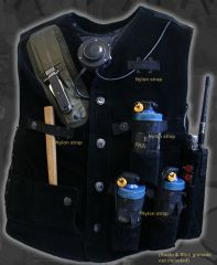 SAS CRW 80's tactical Vest by TGC (Nylon strip version)